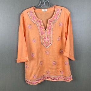Charter Club Luxury Linen Tunic Size XS